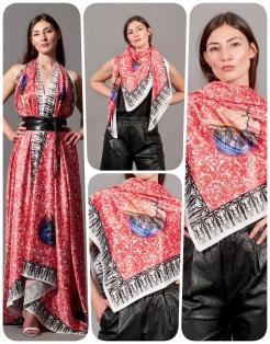 foulard COLLAGE