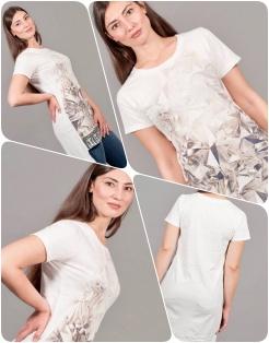 t-shirt cristalli COLLAGE