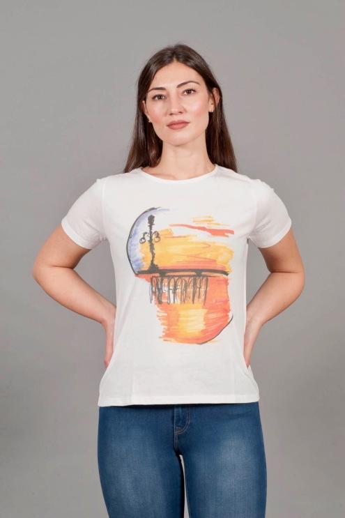 t-shirt girocollo 1